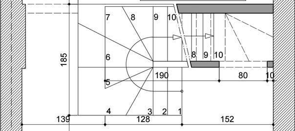Devis escalier acier 1 2 1 4 tournant - Comment fabriquer un escalier en bois 1 4 tournant ...