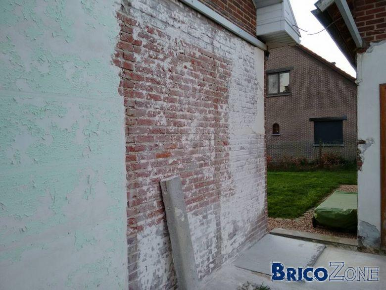 comment enlever le plafonnage sur mur de brique - Comment Enlever De La Peinture Sur Un Mur En Platre