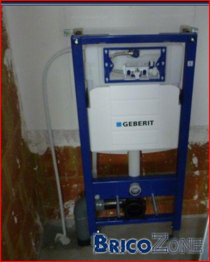 WC suspendu geberit UP320