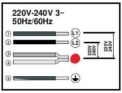 Raccordement taque électrique