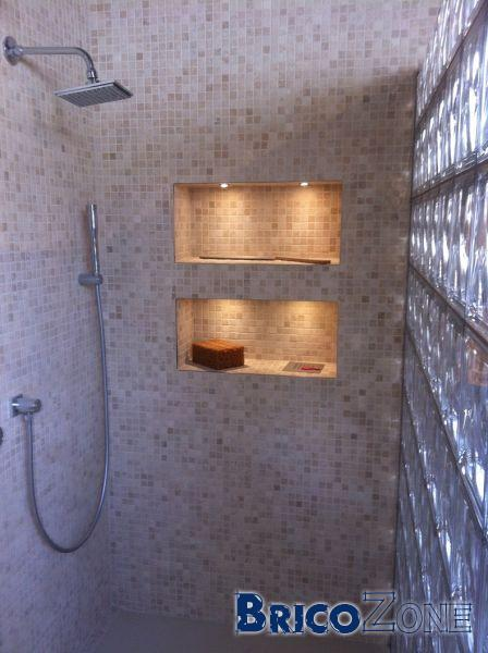 Placement douche italienne