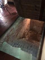 ouverture trappe de cave en bois, le défi
