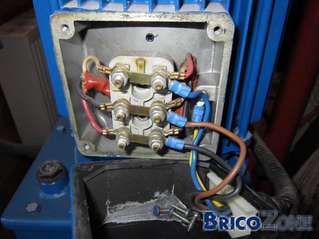 moteur 3x 230 volts