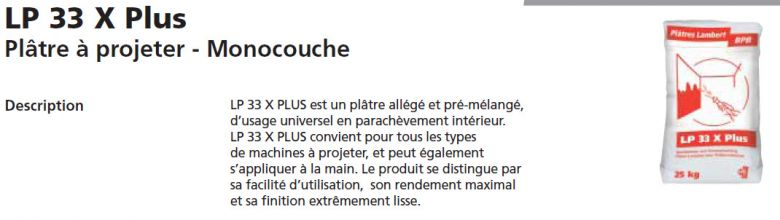 Guide plafonnage