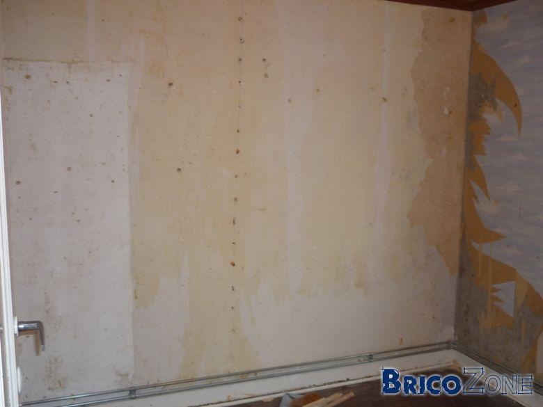 renover un mur en platre tres abim cool le mur est trs. Black Bedroom Furniture Sets. Home Design Ideas
