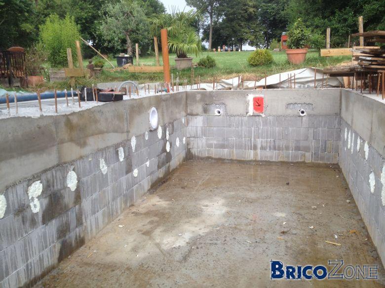 Auto construction piscine int�rieure