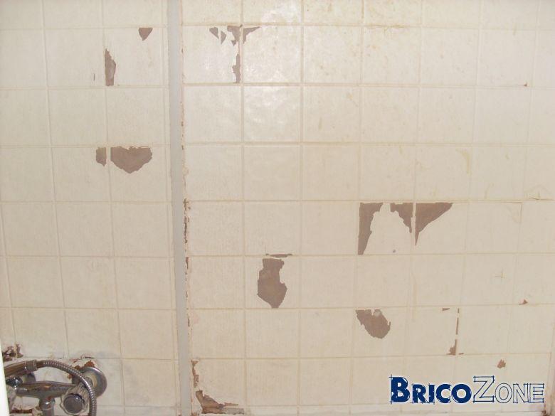 Comment Retirer Ces Panneaux Du Mur De Ma Salle De Bain - Panneau mural salle de bain imitation carrelage