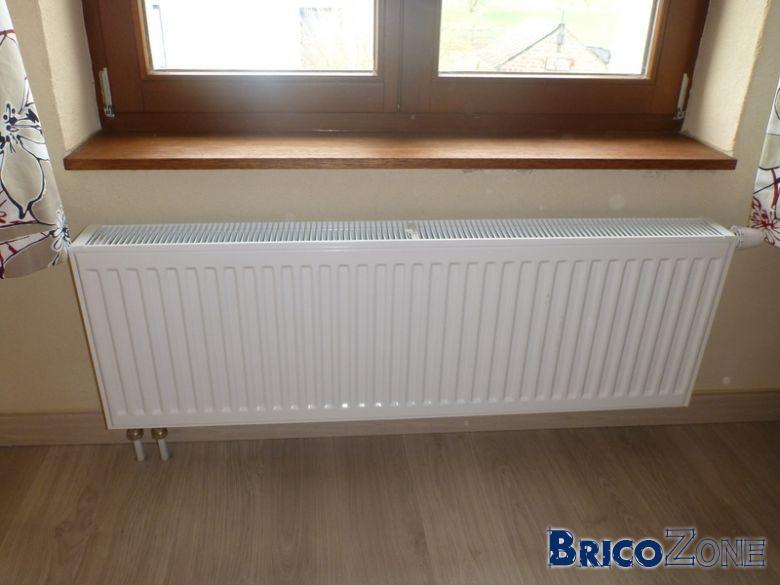 Probl me de radiateur moiti chaud - Radiateur froid en bas ...
