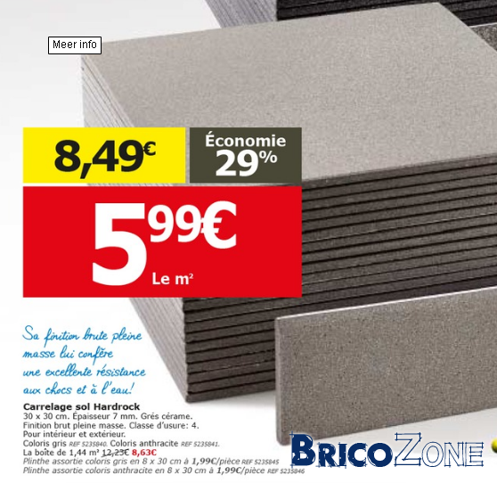 Type de carrelage pour un garage for Carrelage pour sol garage