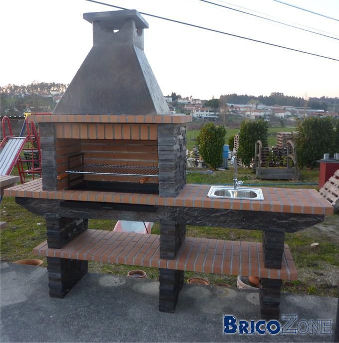 installation d 39 une plancha dans mon barbecue en pierre. Black Bedroom Furniture Sets. Home Design Ideas