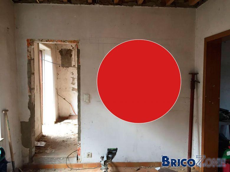 Comment faire ouverture mur porteur simple pour la - Comment savoir si un mur est porteur ...
