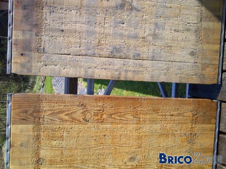 panneaux de coffrage en bois recycl�