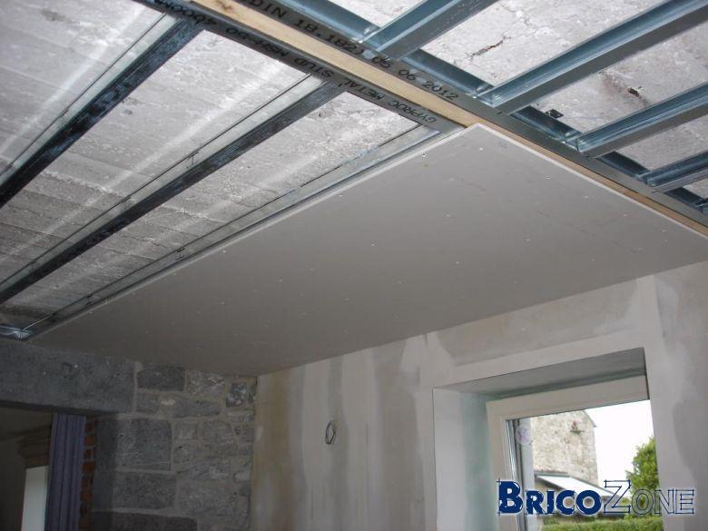 Faux plafond - Metal Stud