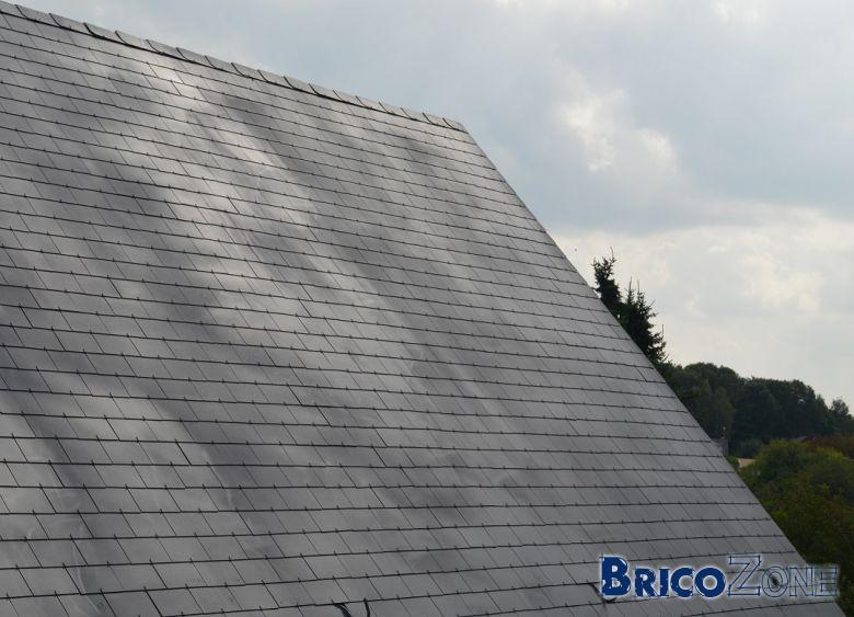 Peinture toit après démoussage