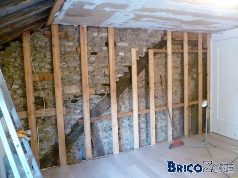 Rénovation chambre et isolation