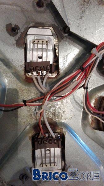 Scema raccordement plaque cuisson électrique rapide