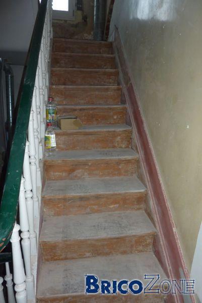 Sablage escalier et meunuiserie extérieur  Achat ou  ~ Sablage Porte Bois