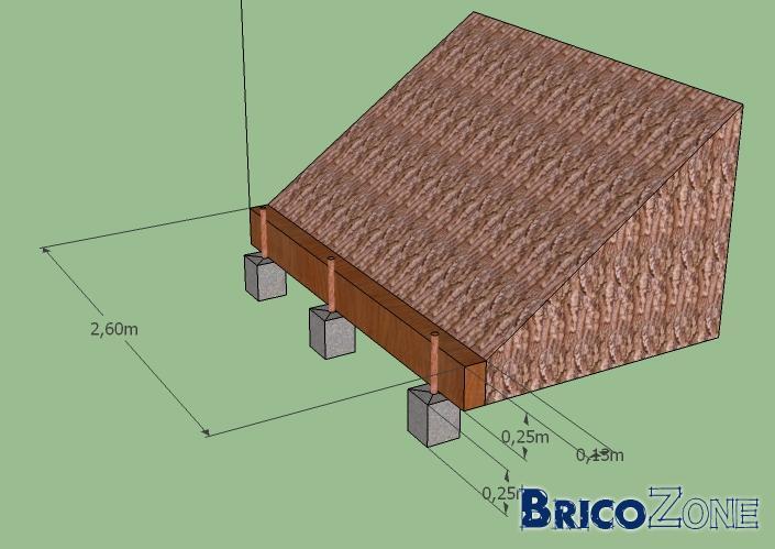 petit mur de sout nement avec billes de chemin de fer. Black Bedroom Furniture Sets. Home Design Ideas