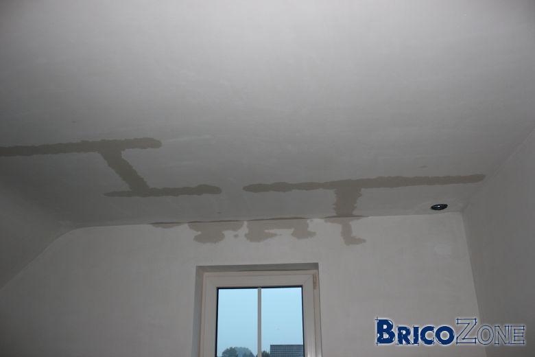 D gats de eaux nouvelle construction - Refaire plafond apres degats des eaux ...