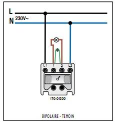 Changement d'interrupteur : passer de 4 fils en 2 ???