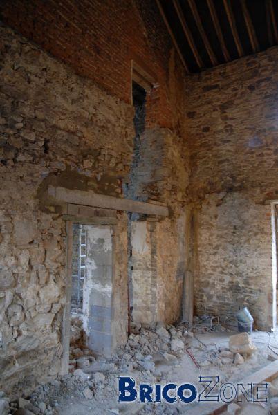 Renforts Structure pour pose de Poutrain Claveaux