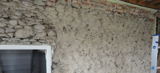 R�parer un mur en pierre
