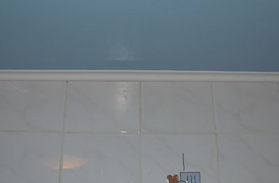 lambris pvc sous faux plafonds gyproc dans salle de bain - Pvc Plafond Salle De Bain