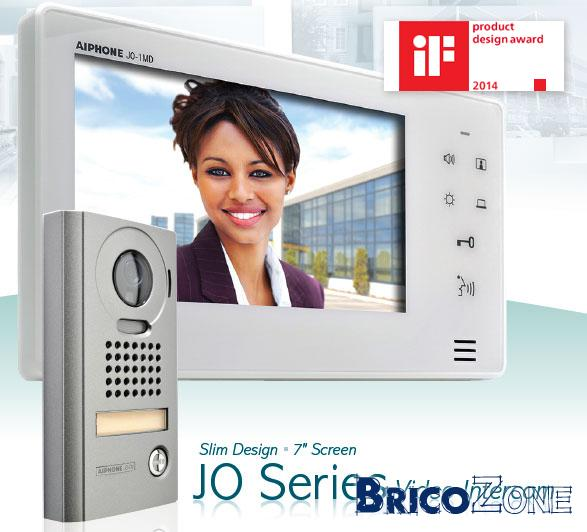 Cablage videophone Aiphone Jo