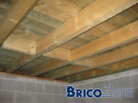 Isolation toiture plate par l'intérieur