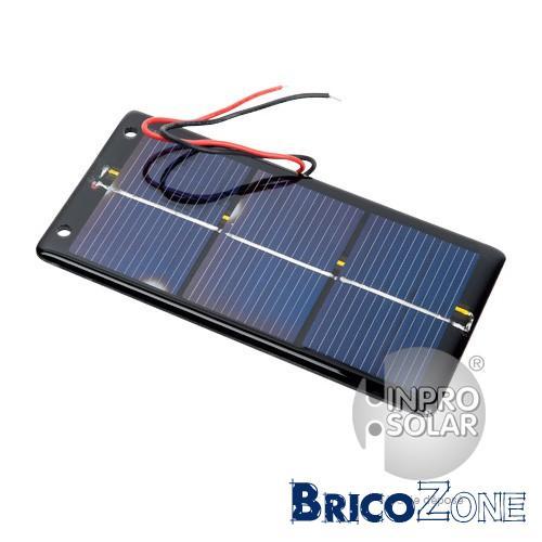 Remplacer une alimentation en secteur en panneau solaire