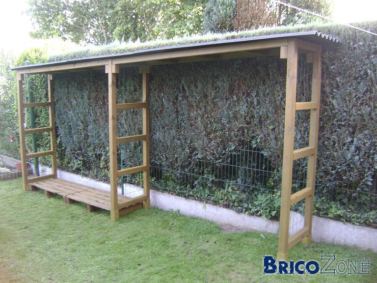 Construire un abris bois de chauffage page 3 - Construire un auvent de porte ...