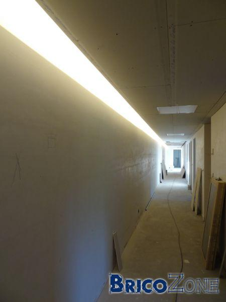 Faux plafond �clairage indirect