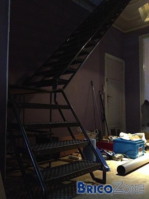Escalier dans maison de maître - Le défis