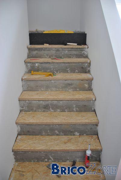 Couvrir un escalier int rieur en b ton - Escalier colimacon beton prix ...