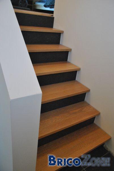 Couvrir un escalier int rieur en b ton for Fabrication escalier beton interieur