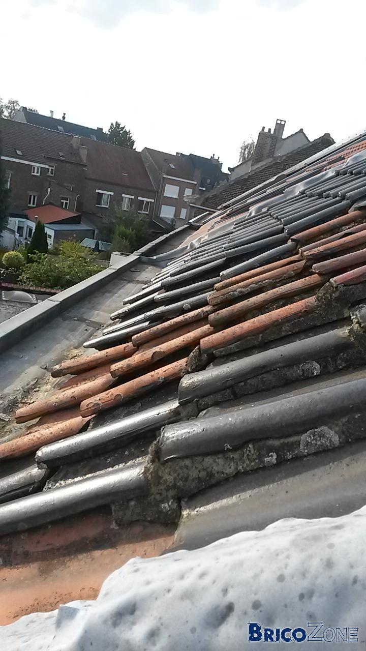 comment poser une bache pour couvrir la toiture pour l 39 hiver. Black Bedroom Furniture Sets. Home Design Ideas