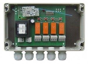 commande éclairage avec télécommande hormann hsm4-868