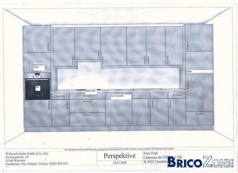 sch ma pour installation lectrique pour cuisine quip e. Black Bedroom Furniture Sets. Home Design Ideas