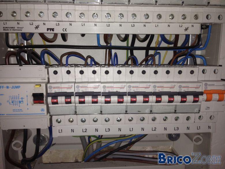 Avis branchement tableau electrique - Cablage coffret electrique maison ...