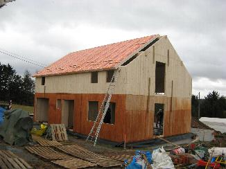 ossature en bois ou construction 'traditionnelle'?