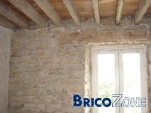 R�novation murs int�rieurs en pierres