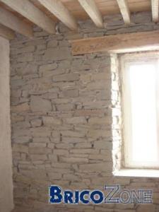 Rénovation murs intérieurs en pierres