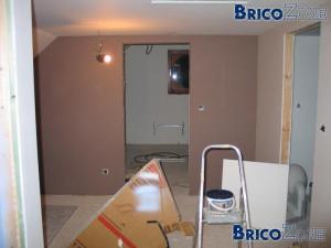 """Aménagement d'un 1er étage (grenier) en """"zône"""" habitable"""