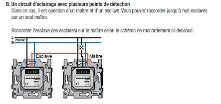 D tecteur mouvement clairage orientation for Brancher un detecteur de mouvement