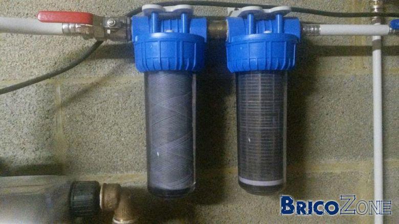 Cartouche filtre eau de pluie - Filtre a eau maison ...