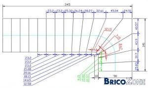 Besoin d 39 aide pour le calcul d 39 un escalier for Calcul pour un escalier droit