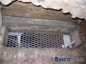 Isolation du plafond de ma cave