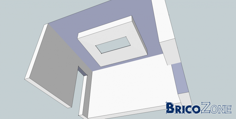 faux plafond centrale plaques Knauf Perforation irr�guli�re PLUS