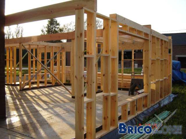Autoconstruction ossature bois - Autoconstruction garage ossature bois ...