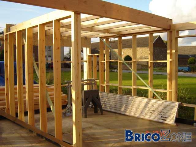 Kit ossature bois autoconstruction - Autoconstruction garage ossature bois ...